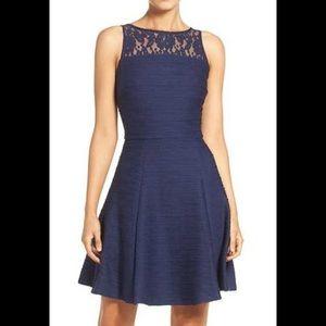 Super cute fit and flare dress